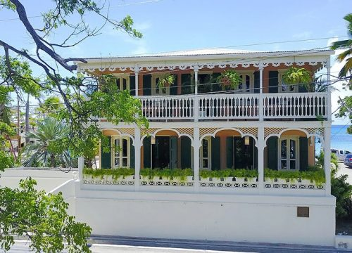 One of the verandas at The Fred